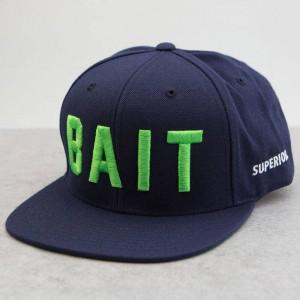 BAIT x Starter Logo Snapback Cap (navy / green)