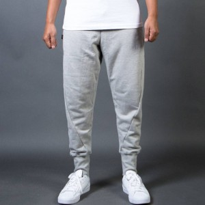 BAIT Men French Terry Jogger Pants - Made In LA (gray / heather)