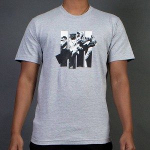 Undefeated Men 5 Strike Rumble Tee (gray / heather)