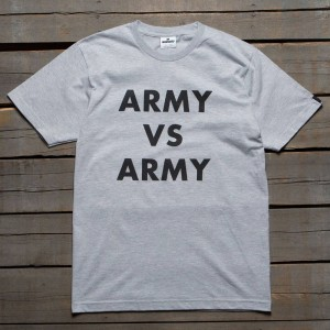 Undefeated Men Army Vs Army Tee (gray / heather)