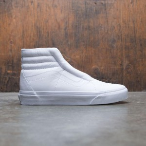 Vans Women SK8-Hi Reissue Laceless Leather (white)