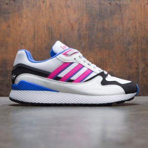 Adidas Men Ultra Tech (white / crystal white / shock pink / core black)