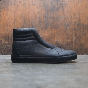 Vans Women SK8-Hi Reissue Laceless Leather (black)
