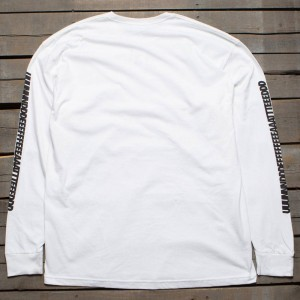 Undefeated Men UUUNNNDDD Long Sleeve Tee (white)