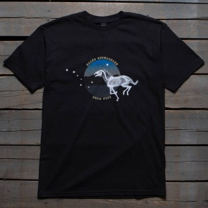 10 Deep Men Riding With Death Tee (black)