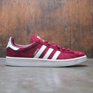 Adidas Men Campus (burgundy / footwear white / chalk white)