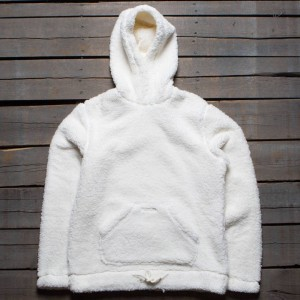 10 Deep Men Sherpa Fleece Hoody (white / off white)