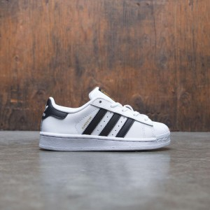 Adidas Little Kids Superstar (white / core black / running white)