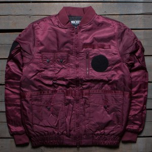 10 Deep Men Technician Aviator Jacket (burgundy)
