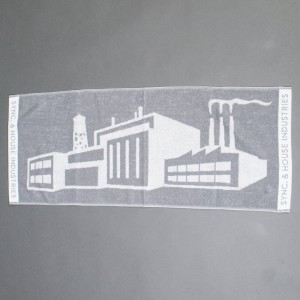Medicom x SYNC x Imabari Towel Factory Face Towel (gray)