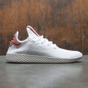 Adidas x Pharrell Williams Men Tennis Hu (white / footwear white / raw pink)