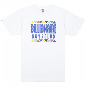 Billionaire Boys Club Men Tribe Knit Tee (white)