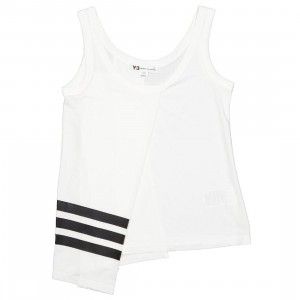 Adidas Y-3 Women 3-Stripe Tank Top (white / black)