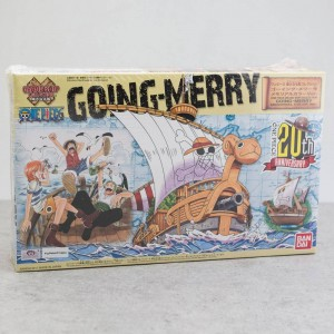 Bandai Hobby One Piece Grand Ship Model Collection - Going Merry Memorial Color Version (tan)