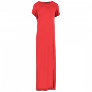 Adidas Y-3 Women Stripe Dress Int (red / chili pepper / undyed)