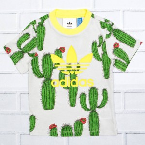 Adidas Toddlers Mini Rodini Tee (multi / fresh lemon)