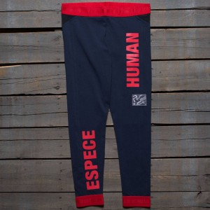 Adidas x Pharrell Williams Women Hu Race Leggings (navy / night marine / scarlet)