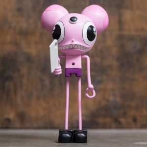 Dalek x CEREALART Space Monkey Pink 9 Inch Action Figure (pink)
