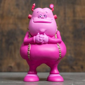 Ron English Franken Fat 8.5 Vinyl Figure (pink)