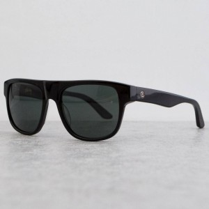 Stussy Santana Sunglasses (black / dark gray)