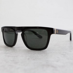 Stussy Louie Sunglasses (black / gold black)