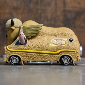 3D Retro Jeremy Fish's Bison Van Burger Edition 5.5 Inch (tan)