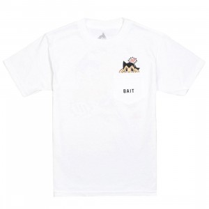 BAIT x Astro Boy Men Mighty Pocket Tee (white)