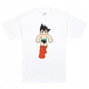 BAIT x Astro Boy Men Step Tee (white)