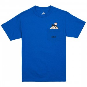 BAIT x Astro Boy Men Mighty Pocket Tee (blue / royal)