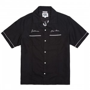 Billionaire Boys Club Men Five Star Woven Shirt (black)