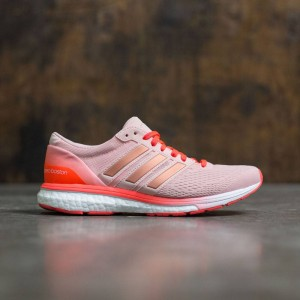 Adidas Women Adizero Boston 6 (pink / vapour pink / solar red)