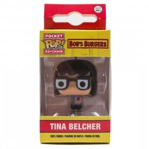 Funko Pocket POP Bob's Burgers Tina Belcher Keychain Figure (tan)