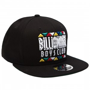 Billionaire Boys Club Block Snapback Cap (black)