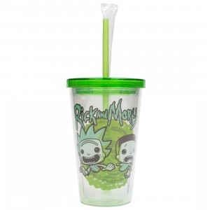 Funko Rick And Morty 16 Oz Acrylic Cup (green)