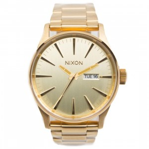 Nixon Sentry SS Watch (gold / all gold)