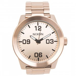 Nixon Corporal SS Watch (gold / rose gold)