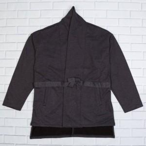 Brandblack Men Yuki Kimono Jacket (charcoal / black)