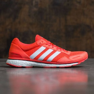 Adidas Men Adizero Adios 3 (red / solar red / footwear white / core black)
