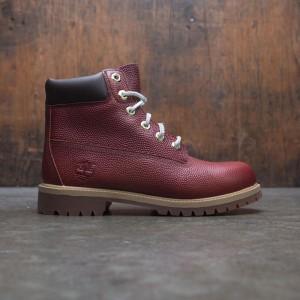 Timberland Big Kids 6 Inch Premium WPBT Boot (brown / textured brown)