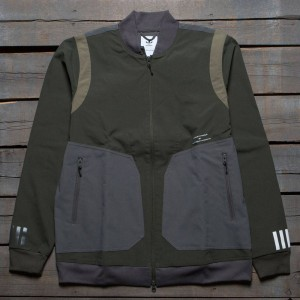 Adidas Men White Mountaineering Varsity Jacket (olive / night cargo)
