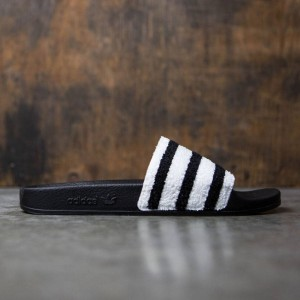 Adidas Men Adilette (black / core black / footwear white)