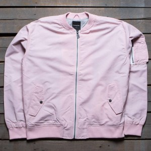 Barney Cools Men Florida Bomber Jacket (pink)
