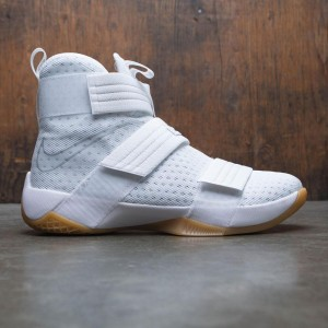 Nike Men Lebron Soldier 10 Sfg (white / metallic silver-white)