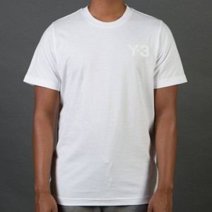 Adidas Y-3 Men Classic Short Sleeve Tee (white)