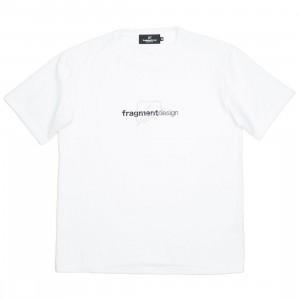 Medicom x Fragment Design Men Be@rtee W Logo Tee (white)
