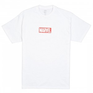 BAIT x Marvel Men Logo Tee (white)