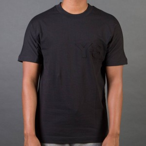 Adidas Y-3 Men Graph Short Sleeve Tee (black)