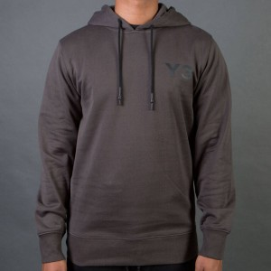 Adidas Y-3 Men Classic Sweat Hoodie (black / olive)