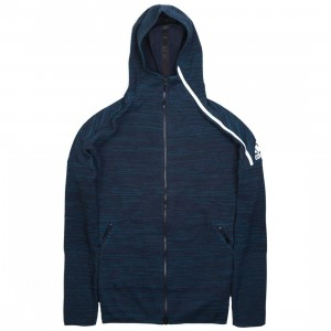 Adidas Men Z.N.E. Parley Hoodie (navy / legend ink)
