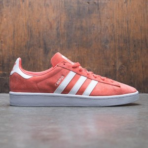 Adidas Men Campus (red / trace scarlet / footwear white)